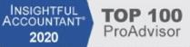 2020 Top 100 ProAdvisor Badge