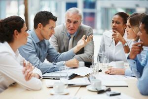 Meet with a business consultant